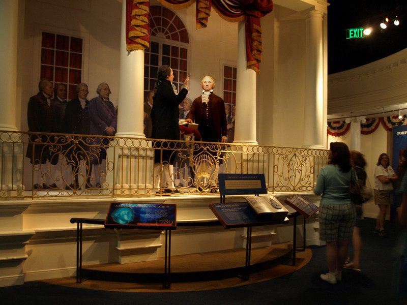 World's longest Inaugural. The Donald W. Reynolds Museum and Education Center, Mount Vernon, August 2, 2008.