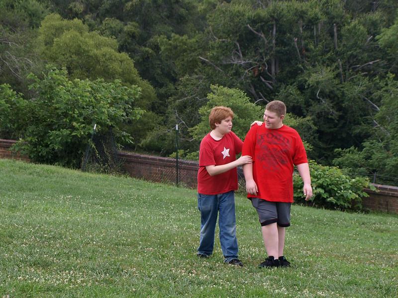 Cousins, Mount Vernon, August 2, 2008.