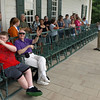 Have a seat! The piazza at Mount  Vernon, August 2, 2008.