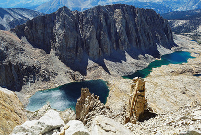 Mount Whitney climb, 14, 505 ft