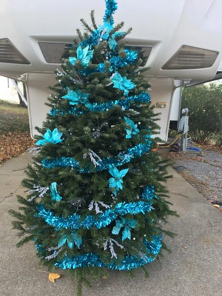 RV Xmas tree