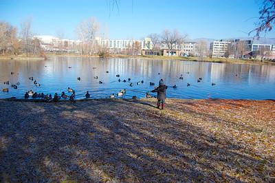 Walk along the river in Boise
