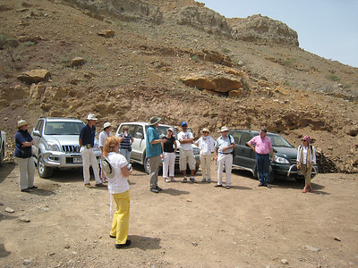 Christian Velde from the RAK Dept of Antiquities explains what we are going to see.