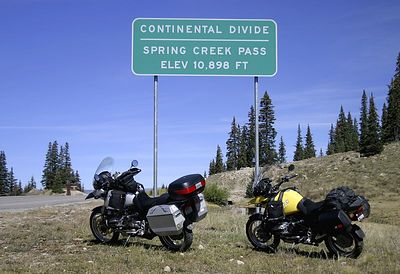 Spring Creek Pass 10,898 feet