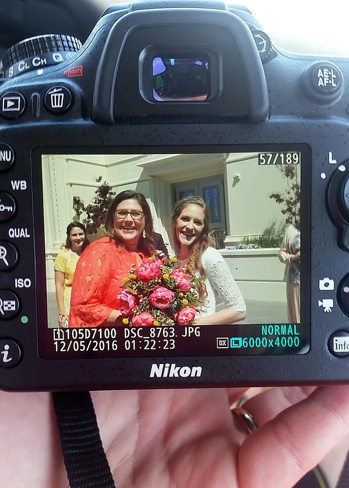 Happy Mom, Beautiful Bride