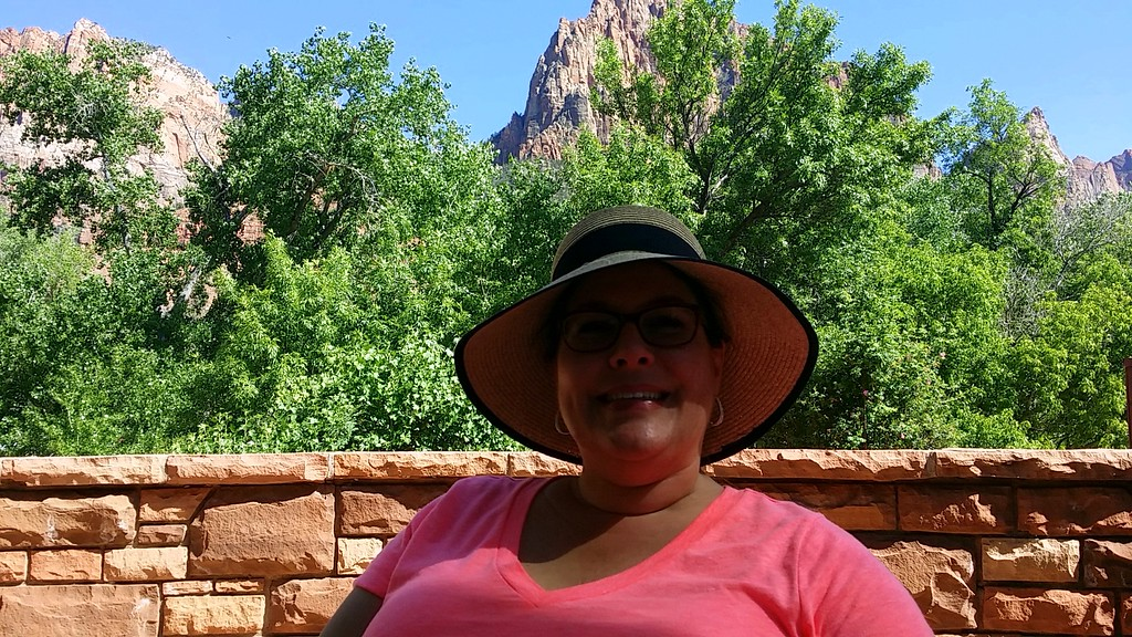 Hanging out at Zion