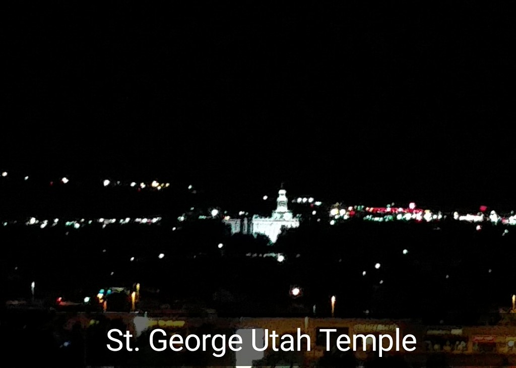 View of St. George, Utah
