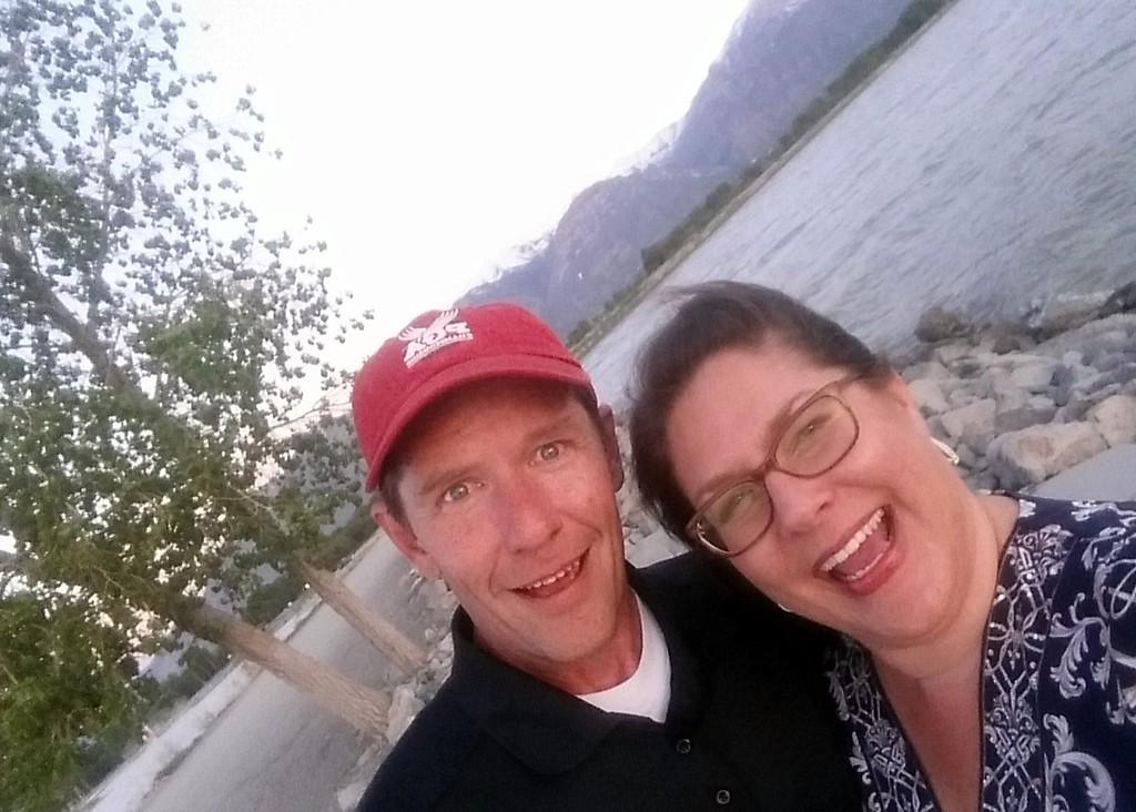 Windy Utah Lake