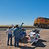 Choo Choo Between Mountainair and Belen New Mexico