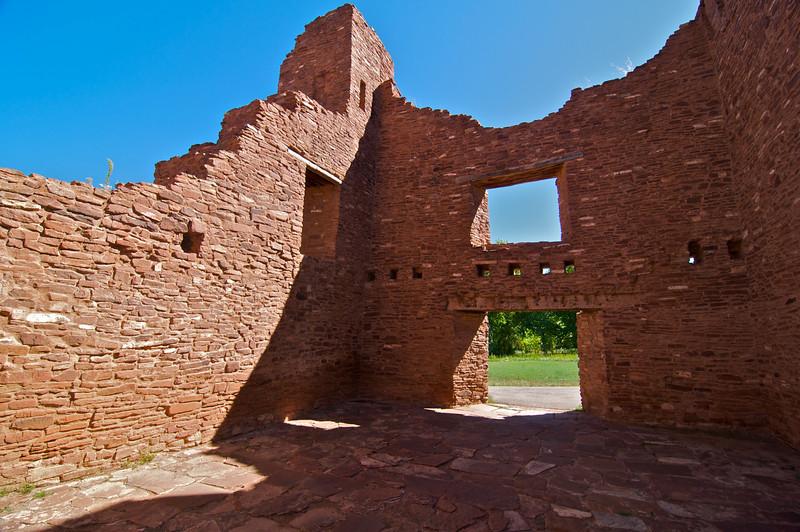 Quarai Ruins north of Mountainair