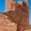 Abo ruins west of Mountainair New Mexico