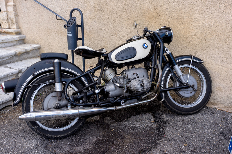 A BMW daily rider, from the looks of it
