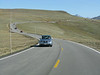 Trail Ridge road winds along the peak.