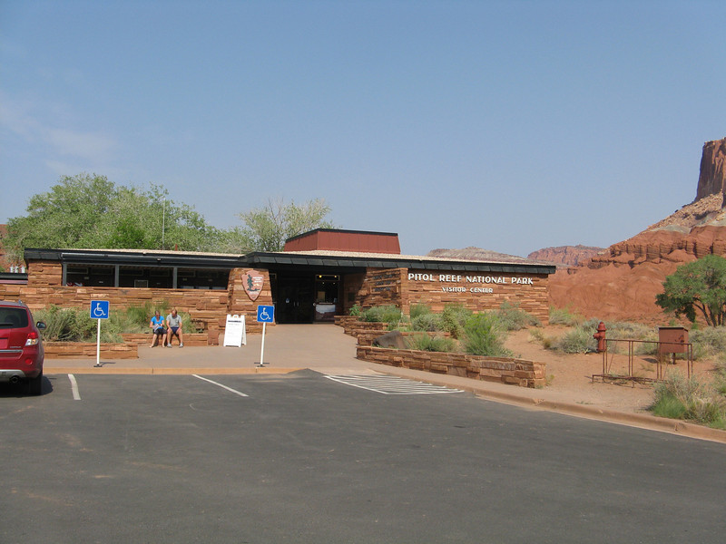 Capitol Reef Visitor Center.