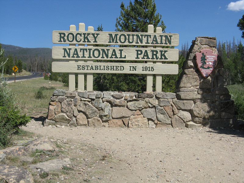 Our first time to Rocky Mountain NP.