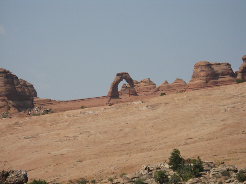 We drove over to the viewpoint for Delicate Arch.