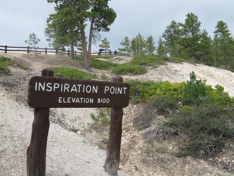 Inspiration Point.