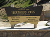 Berthoud Pass on the continental divide.