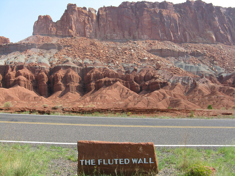The Fluted Wall.