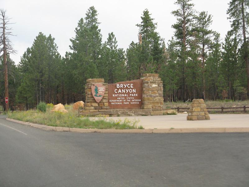 Bryce Canyon NP.