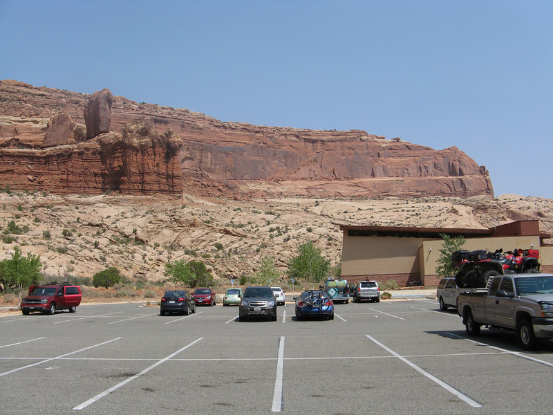 Arches NP Visitor Center