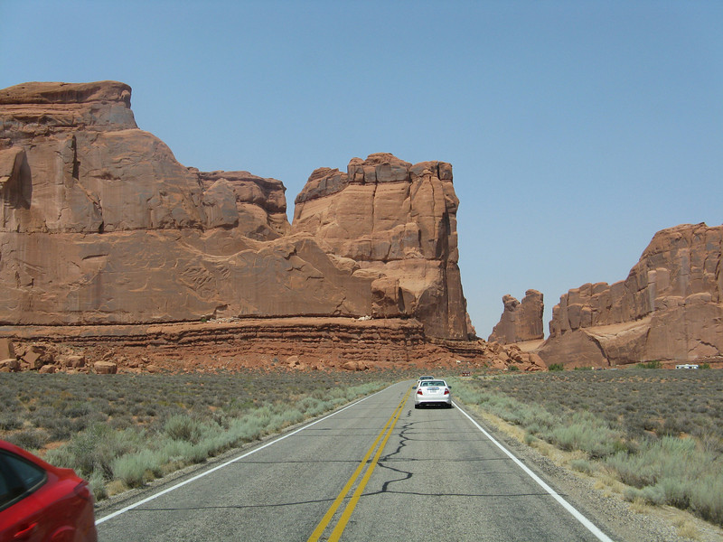 Heading into Arches.
