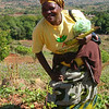 Mozambique - Manica - Chazuka - Flora, a community leader and volunteer.