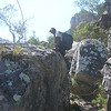 Zimbabwe - Chimanimani National Park - Mt. Binga - Through the rocks