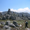 Zimbabwe - Chinmanimani National Park - Mt. Binga - Strange rocks all over the place as we head east towards Mozambique.