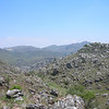Zimbabwe - Chinmanimani National Park - Mt. Binga - Looking back to the starting valley.