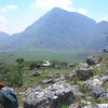 Zimbabwe - Chinmanimani National Park - Mt. Binga - Descending the hut.  This was about 2 hours from the start.