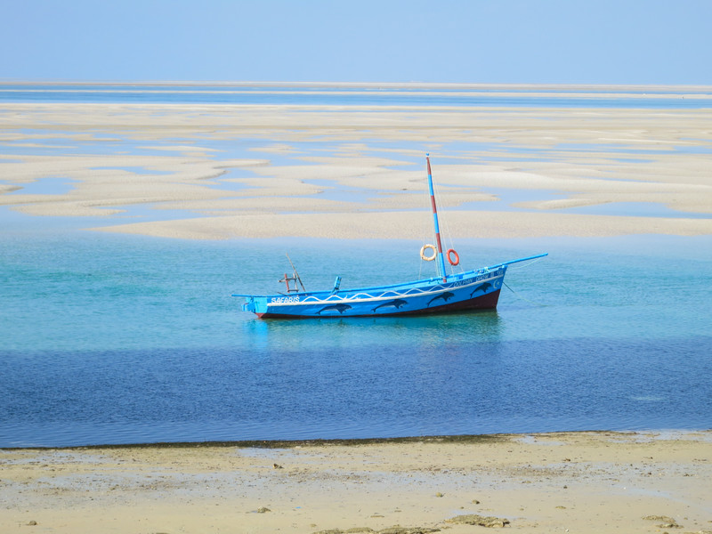 Dhow on the shores of Vilankulo