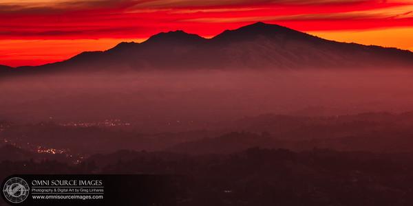 Tuyshtak (Mt_Diablo) Sunrise - Saturday, Nov 3, 2012 at 7:16 AM. 0.8 seconds at f/11, ISO 50, 123mm.