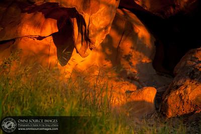 Mt Diablo Rock City Wind Cave at Sunset