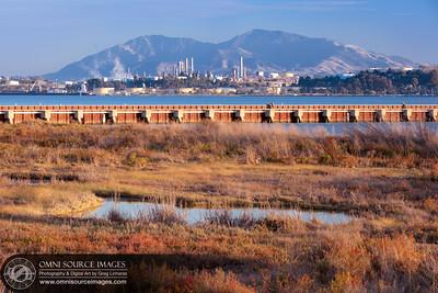 Martinez Refinery and Mt Diablo
