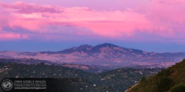 Tuyshtak (Mt. Diablo) Sunset