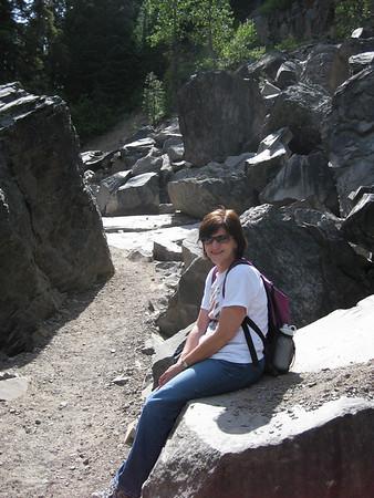 Mt Hood June '09 with Marleen