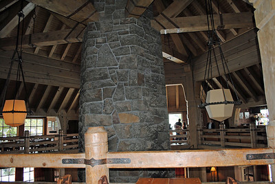 Inside Timberline Lodge, Mt. Hood, Washington