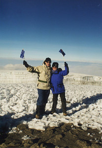 Mt Kilimanjaro - at the summit