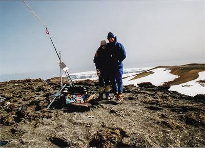 Mt. Kilimanjaro, via the Western Breach, 1991-08