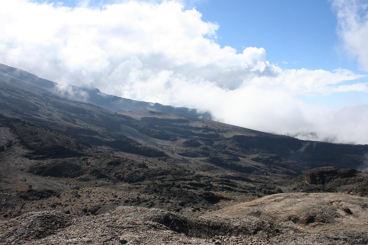 Climb to Barafu Camp.