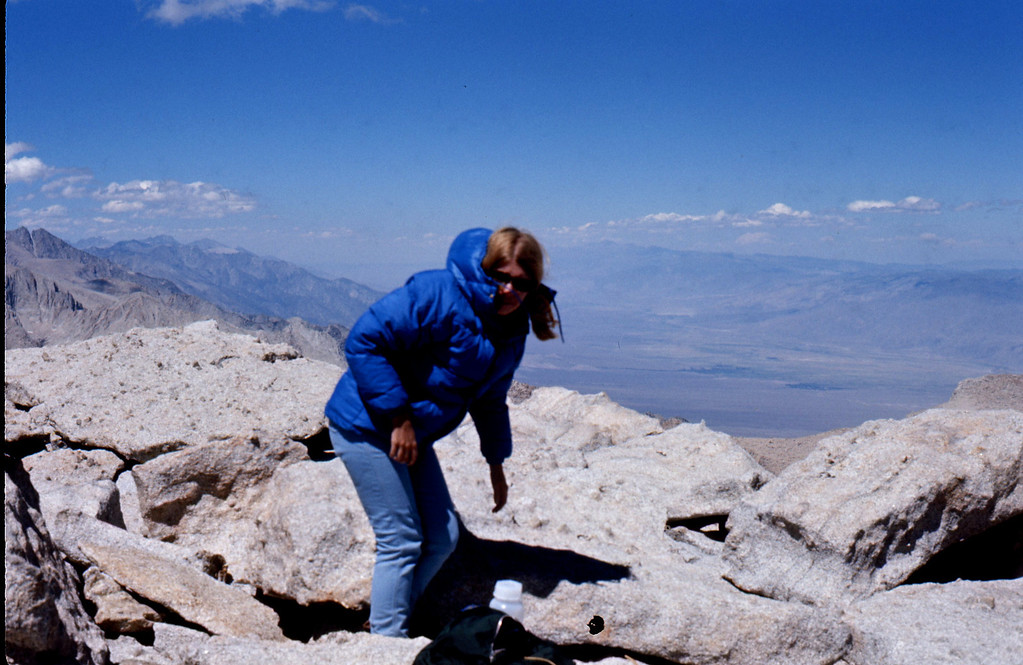 At the top — careful with the balance Beth