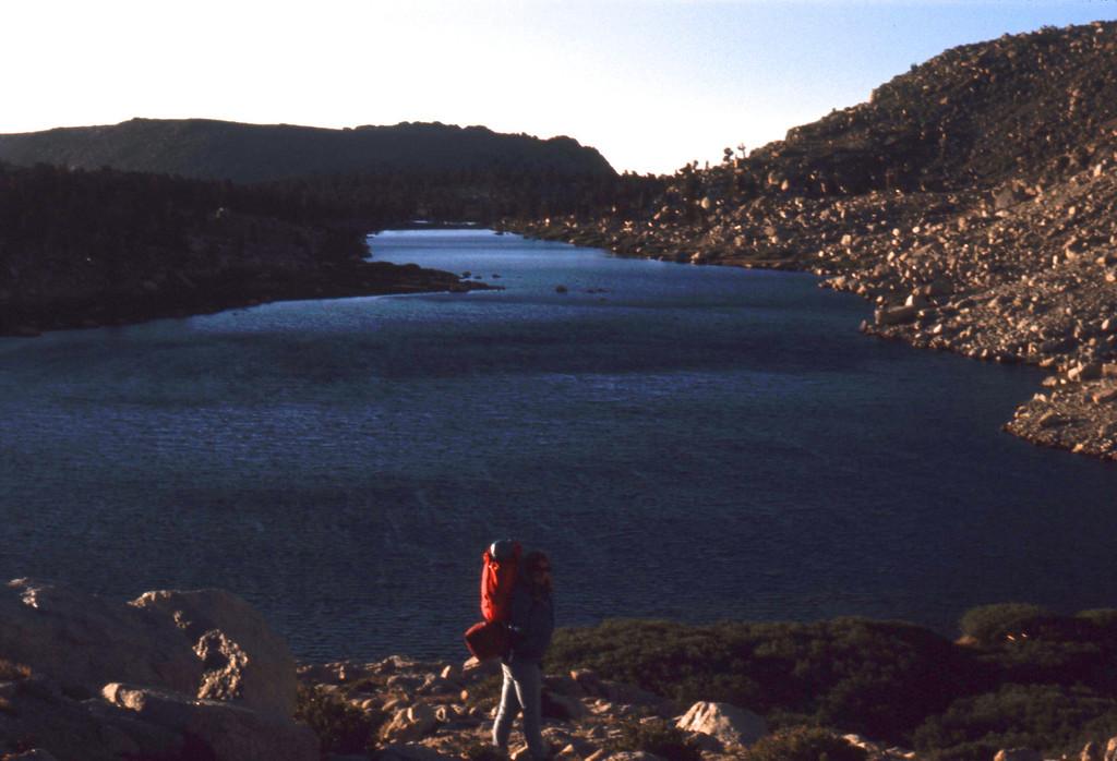 The biggest Cottonwood Lake