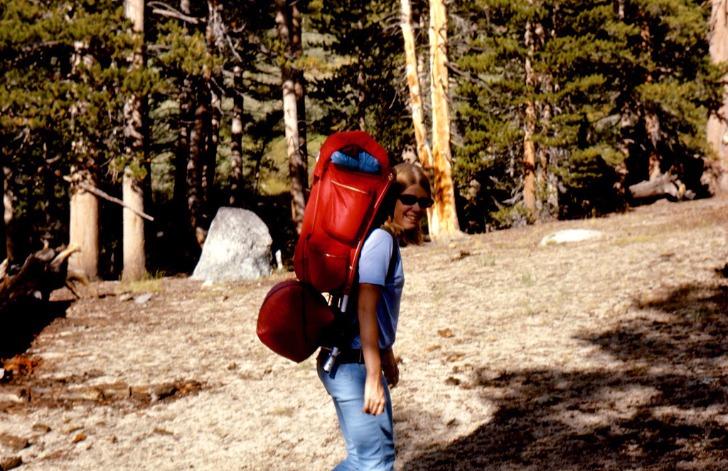 Our Kelty backpacks