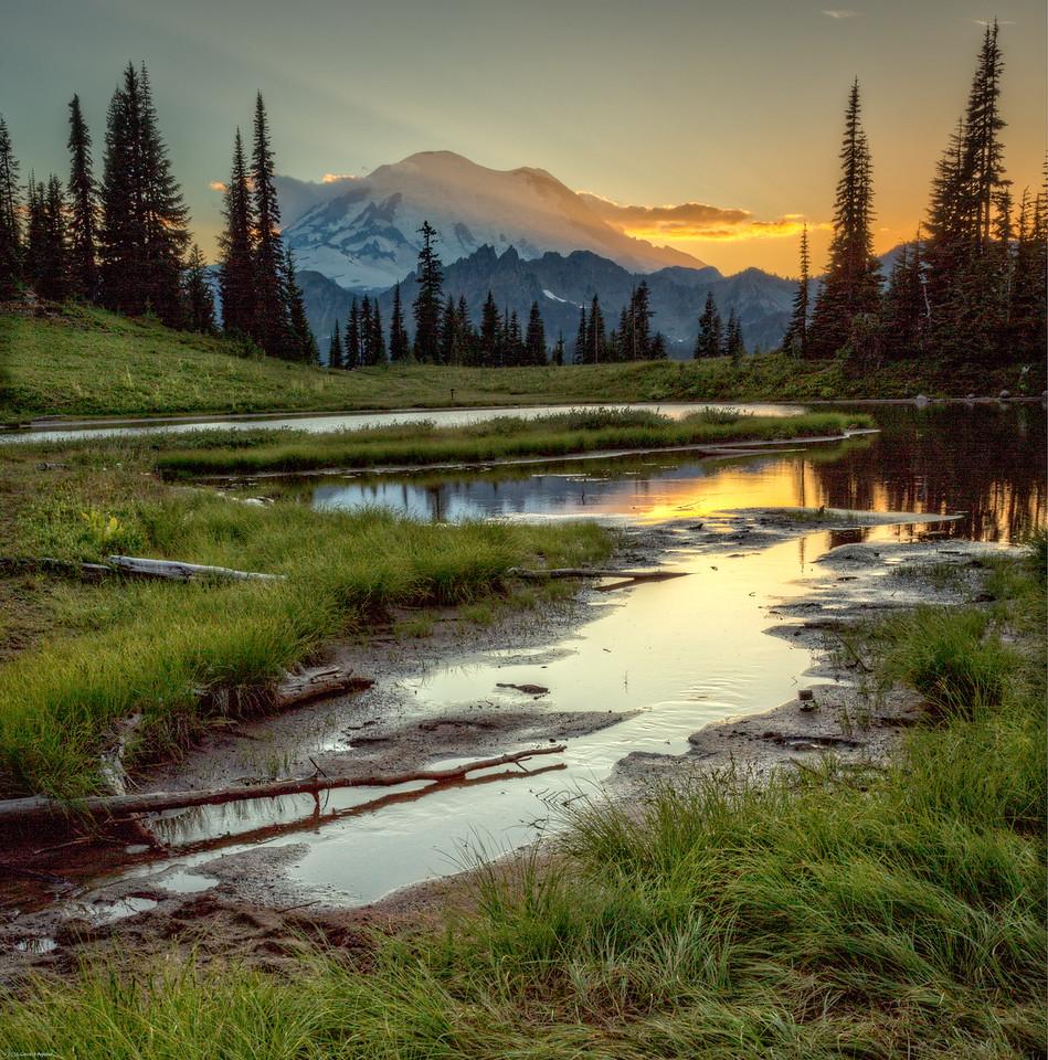Sunset #2 - Tipsoo Lake