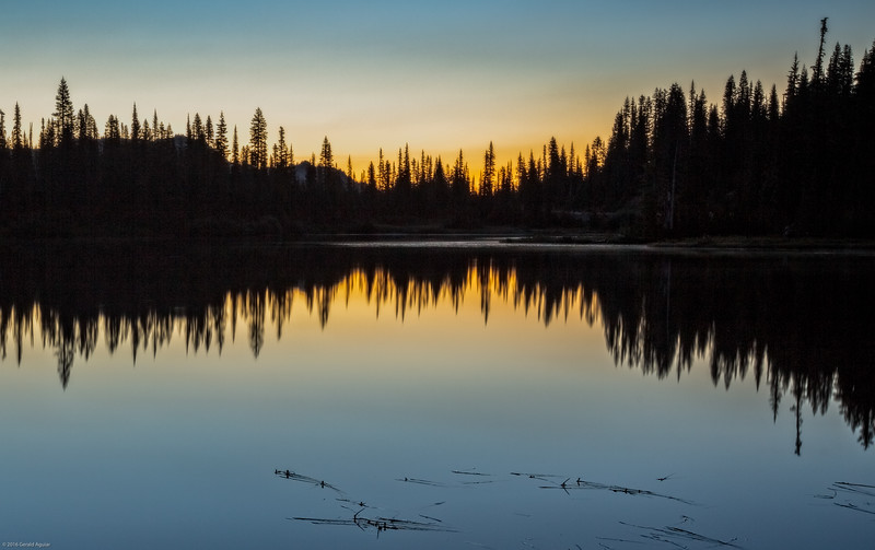 Sunrise - Reflection Lake