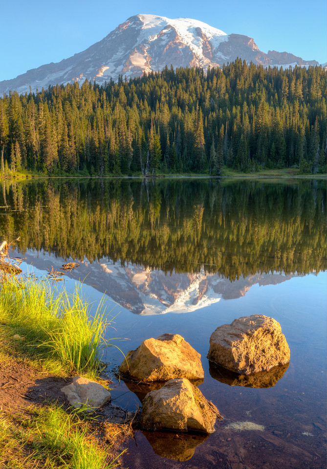 Mt. Rainier Reflection #2