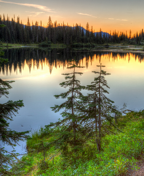 Reflection Lake Sunrise 2