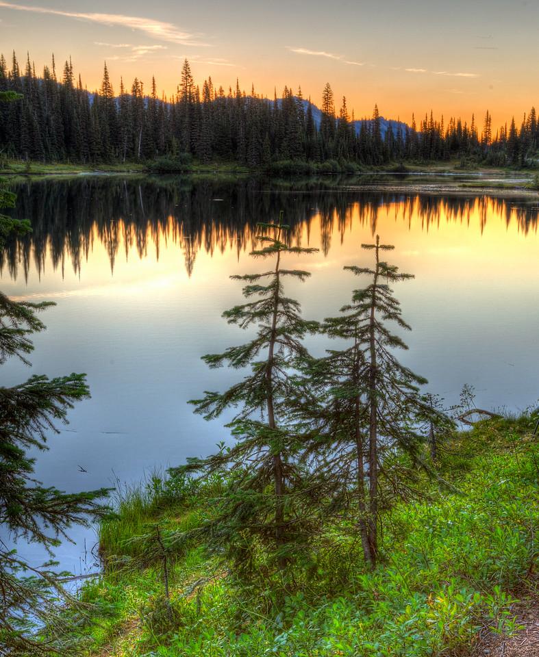 Reflection Lake Sunrise 2