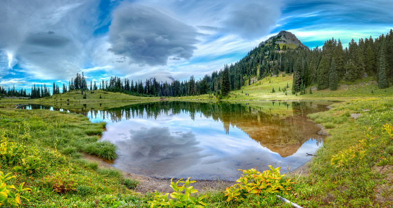 Color Version - Tipsoo lake